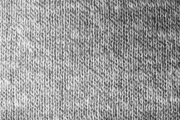 Knitted fabric texture, closeup