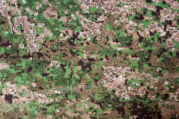 camouflage fabric closeup