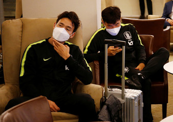 World Cup - South Korea Arrival