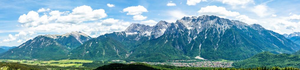 view from kranzberg mountain