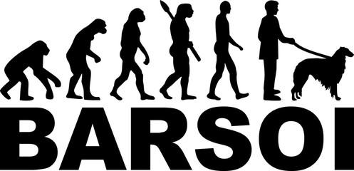 Borzoi evolution word german