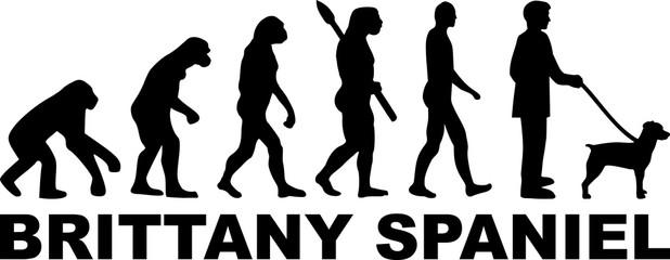 Brittany Spaniel evolution word