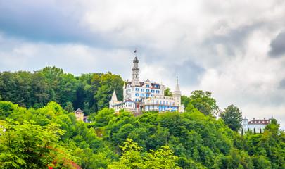 Beautiful castle of Lucerne, Switzerland