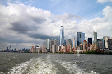 Skylines NYC Manhattan