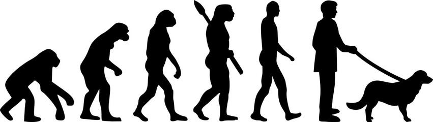 Flat Coated Retriever evolution