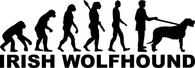 Irish Wolfhound evolution word