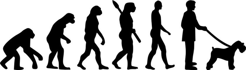 Miniature Schnauzer evolution