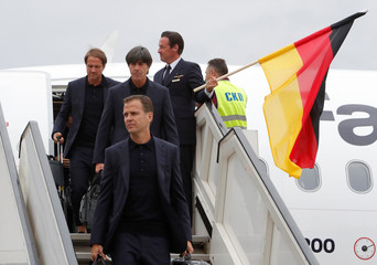 World Cup - Germany Arrival