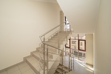 Foto op Plexiglas Trappen hall with stairs