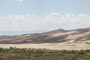 Giant Desert Dunes