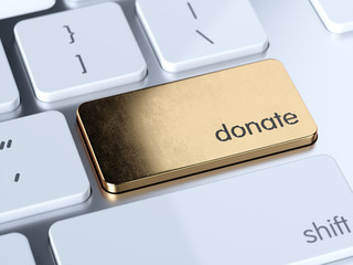 Donate computer button