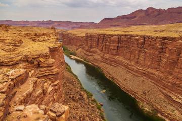 Deurstickers Canyon Colorado River as it flows through Marble Canyon.