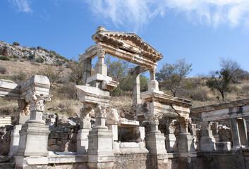 Ruins Of Ephesus Ancient City