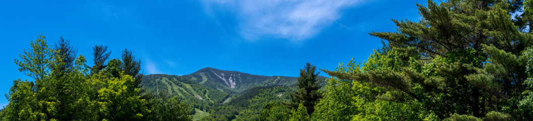 Panoramic view of Whiteface Mountain in the Adirondacks
