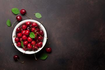 Fresh summer cherry