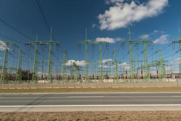 High voltage station, Czech Republic
