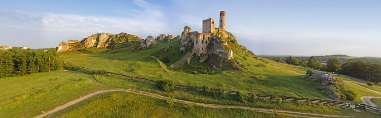 Fototapeta Wzgórze Zamku w Olsztynie. obraz