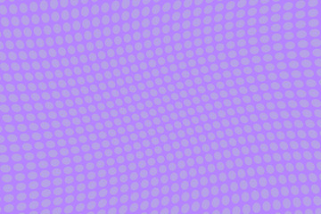 Violet wave halftone background. Digital gradient. Dotted pattern. Futuristic panel Vector illustration