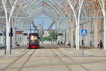 Przystanek Centrum. Łódź, Polska