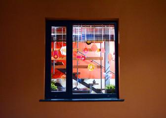 Deurstickers Imagination The window