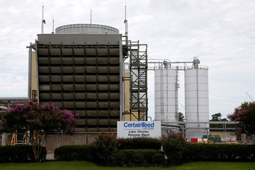 A CertainTeed Corporation facility is pictured in West Lake