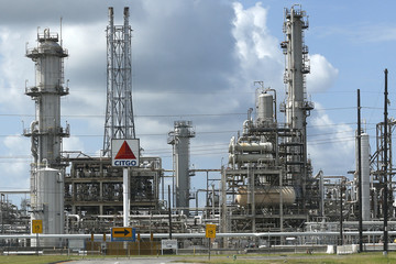 A CITGO refinery is pictured in Sulphur