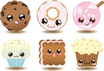 Cute Cookies set