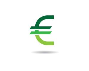 Euro moneysymbol illustration design