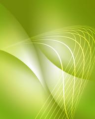 エコロジー ウェーブ エコ背景 グリーン 抽象 ドット 曲線 波打つ