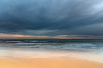 Overcast and Beautiful - an early morning Seascape