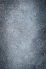 abstract art blue grey textured dust background. distressed dark scratched design. dark edges vignette. free space concept