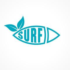 planche de surf, vecteur