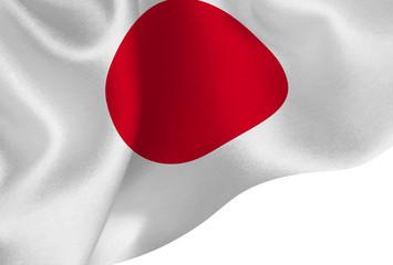 日本  国旗 シルク 背景