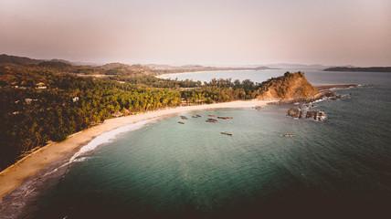Ngapali Strand in Myanmar