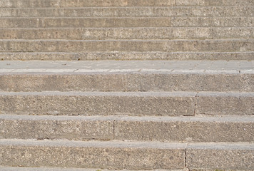 Granite stairs steps background