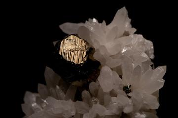pirite shining rock looks like gold