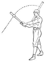 Baseball Player (Batter, Hitter) #vector #isolated - Baseball Spieler