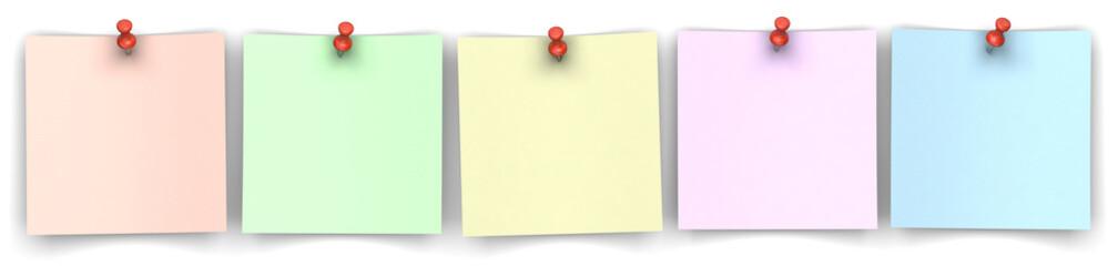 5 Notizzettel