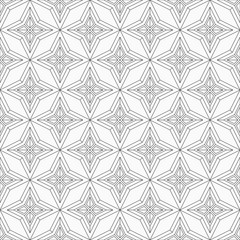Abstract geometric pattern. Line ornament pattern.