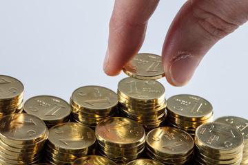turkish lira coin Money, Saving Concept