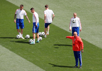 World Cup - Russia Training