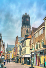 Traditional houses in Utrecht, Netherlands