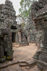 Ta Som temple at Angkor complex in Siem Reap, Cambodia
