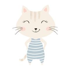 Cute kitty print