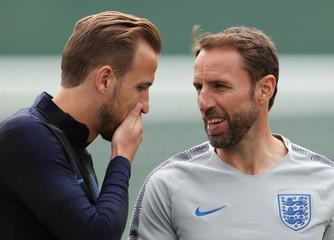 World Cup - England Training