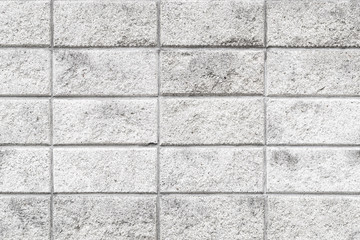 Cement block wall pattern and seamless background