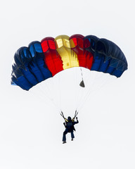 Photo sur Toile Aerien Colorful Parachute