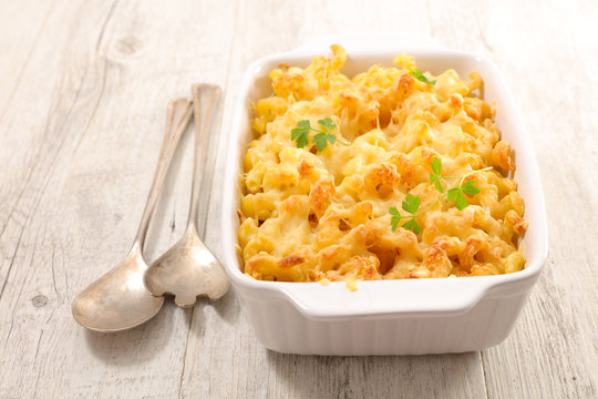 baked pasta and cheese