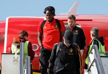 World Cup - Belgium Arrival