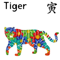 Eastern Zodiac Sign Tiger